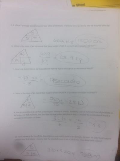 Physical Science - Mrs. McCutchen's Class